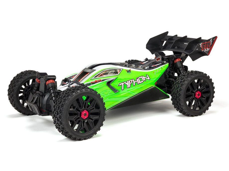 Arrma Typhon 4X4 MEGA 550 SLT3 Speed Buggy RTR Green Brushed