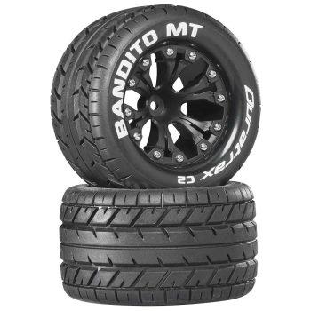"Bandito MT 2.8"" Truck Mounted 1/2"" Offset C2 Black (2)"