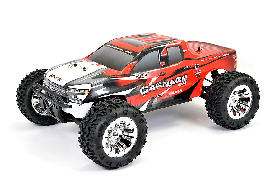 FTX5537R Carnage 2.0 Red Brushed RTR