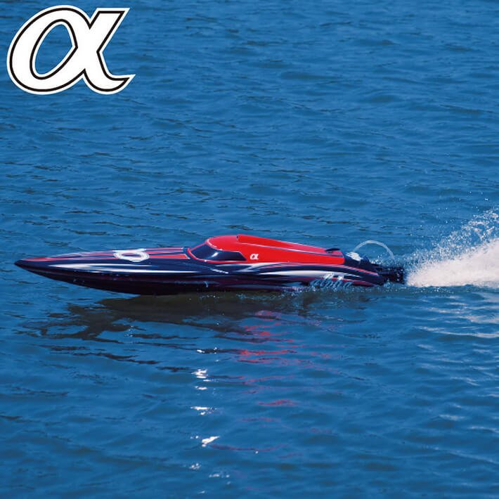 JY8901R RTR Speedboat RTR Brushless Red