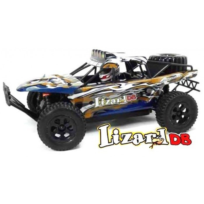 LIZARD 1/18TH SCALE 4WD ELECTRIC RC TROPHY TRUCK