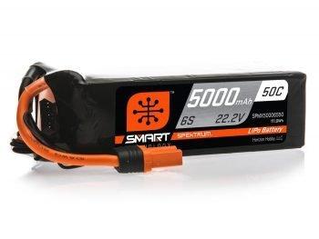 5000mAh 6S 22.2V 50C Smart LiPo Battery; IC5