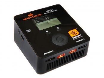 Spektrum Smart S2100 AC Charger, 2x100WO-SPMXC1010I