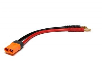 """IC5 Device Charge Lead 6""""; 10 AWG / 4mm Bullet"""