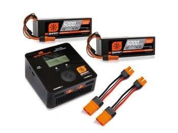 Spektrum Smart Powerstage Bundle 8S 5000mAh 100C IC5