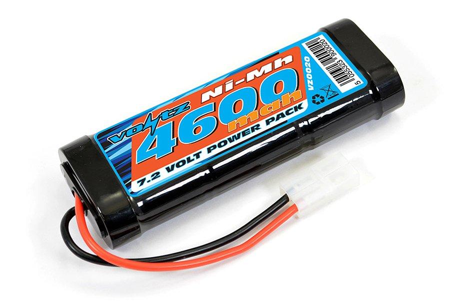 VOLTZ 4600MAH 7.2V NIMH STICK PACK BATTERY W/TAMIYA CONNECTOR