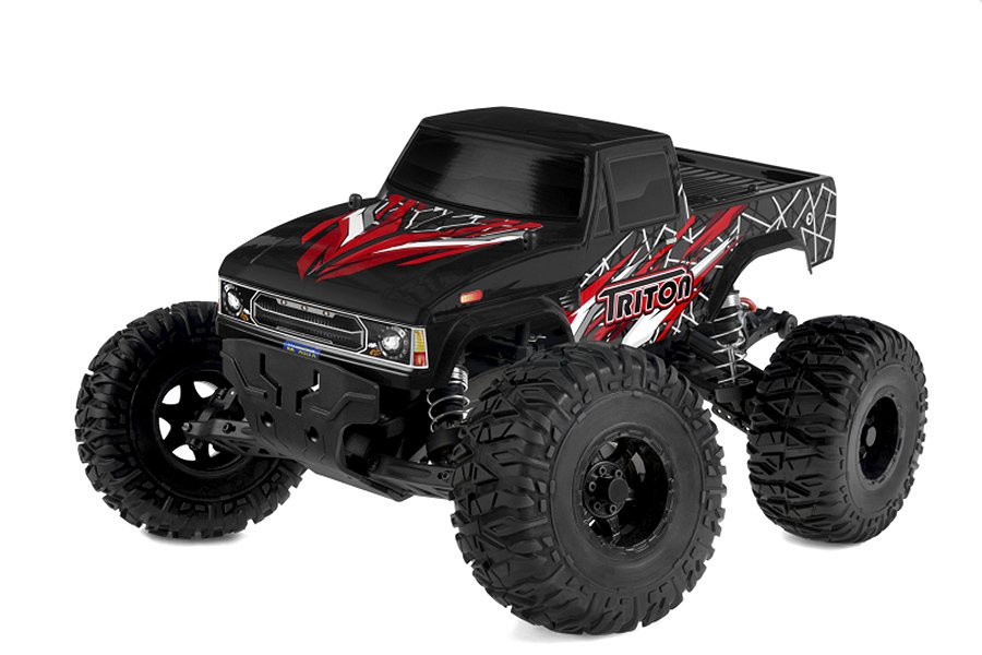CORALLY TRITON XP 2WD MONSTER TRUCK 110 BRUSHLESS RTR COMBO