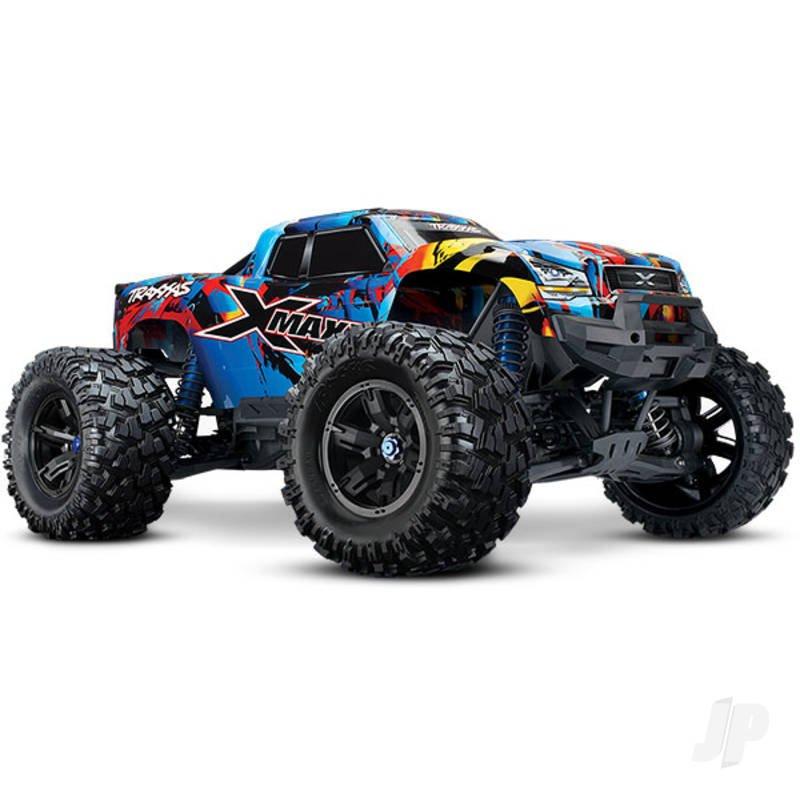 Traxxas Rock 'N Roll X-Maxx 1:7 4X4 Brushless Electric Monster Truck (+ TQi, TSM, VXL-8s, Velineon 1200)