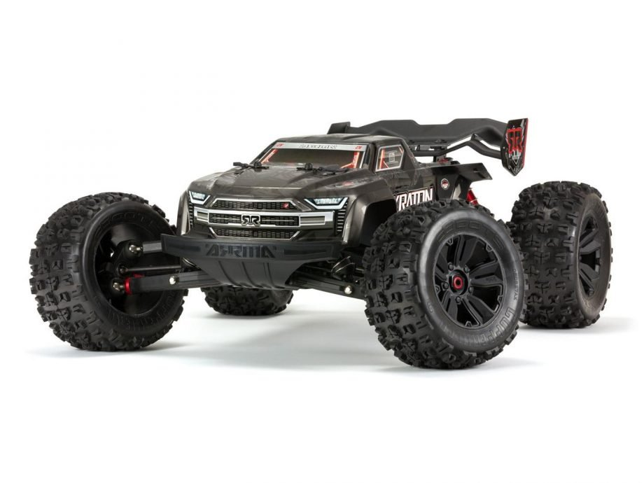 ARRMA KRATON 1/8 4WD EXtreme Bash Roller Speed Black (Needs Motor etc)