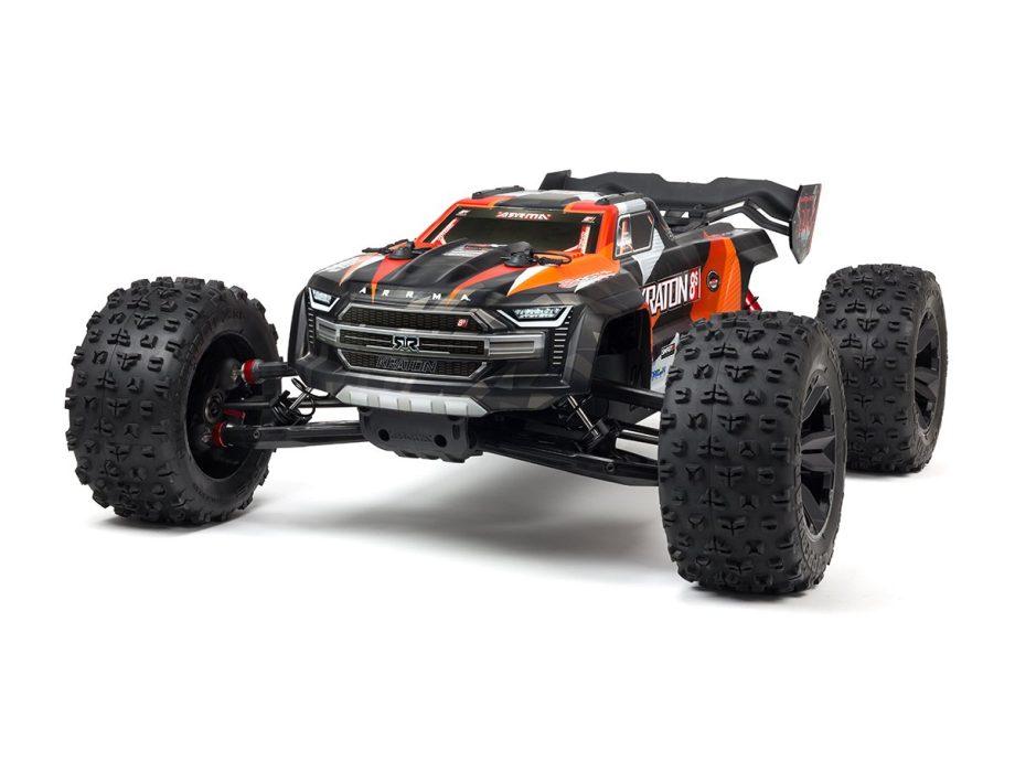 Kraton 8S 4x4 BLX 1/5 Speed Monster Truck - Orange