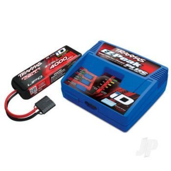 iD Completer Pack with 1x EZ-Peak Plus Charger & 1x LiPo 3S 4000mAh Battery Traxxas