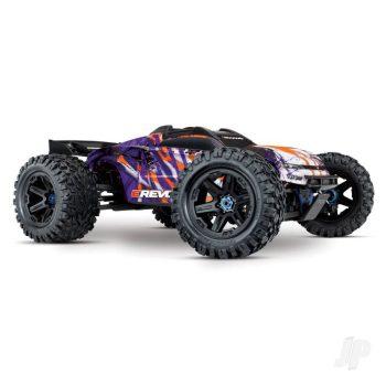Purple E-Revo VXL 1:10 4X4 Electric Monster Truck (+ TQi, TSM, VXL-6s, Velineon 2200)