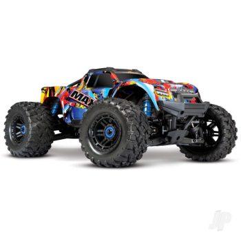 Rock 'N Roll Maxx 1:10 4X4 Brushless RTR Monster Truck (+ TQi, TSM, VXL-4S, Velineon 540XL)
