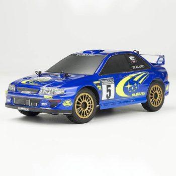 CARISMA GT24 SUBARU WRC 4WD 1/24 MICRO RALLY RTR