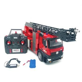 HUINA 1/14 FIRE TRUCK WITH LADDER AND HOSE