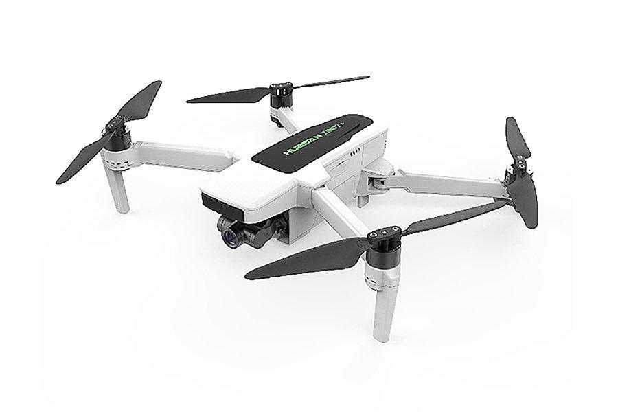 HUBSAN ZINO 2+ FOLDING DRONE W/STORAGE BAG & EXTRA BATTERY